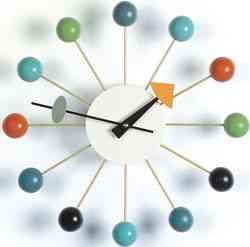 reloj de pared multicolor livingroom24