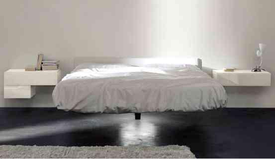 cama flotante lago