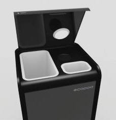 Cubo de basura ecol gico para reciclar decoraci n de - Cubos de basura para reciclar ...