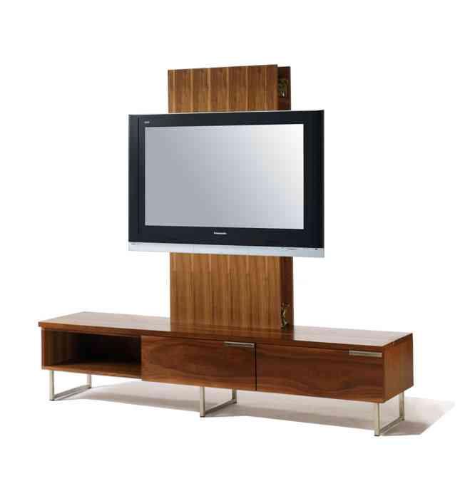 Mueble integrado para la televisión
