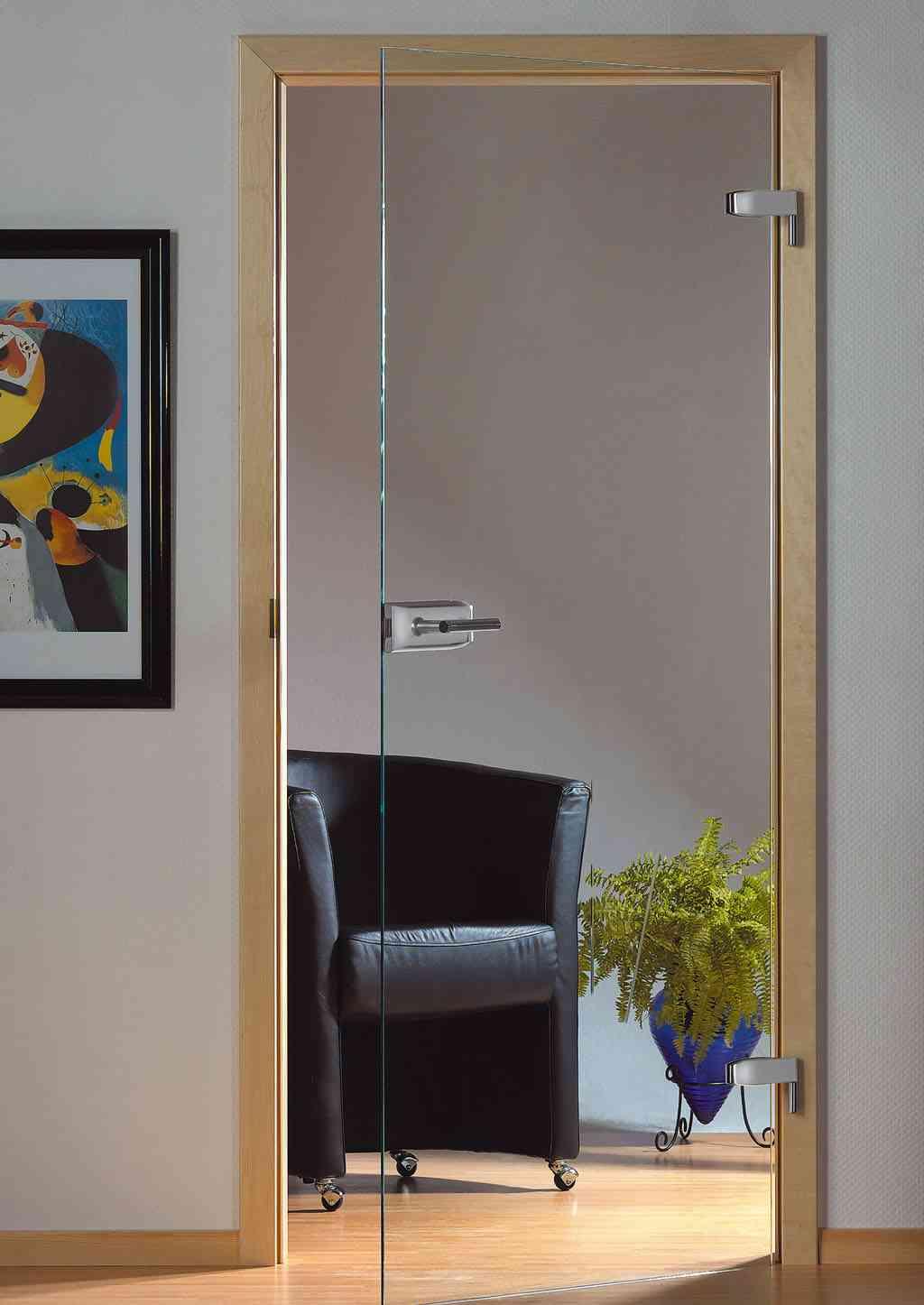 Tipos de puertas y cerramientos decoraci n de interiores - Puertas de cristal para interiores ...