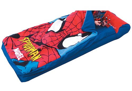 saco colchon spiderman