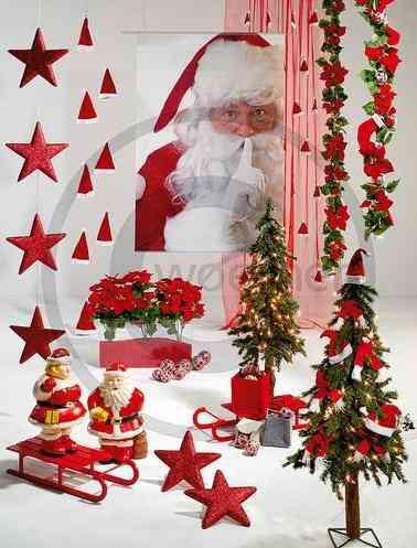 Decorar un escaparate para navidad decoraci n de for Decoraciones para navidad interiores