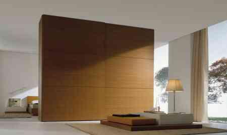 Un armario para separar espacios decoraci n de - Muebles separadores de espacios ...