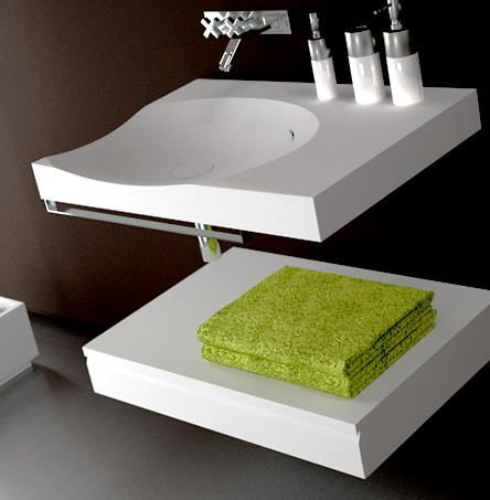 baño mini minimalista