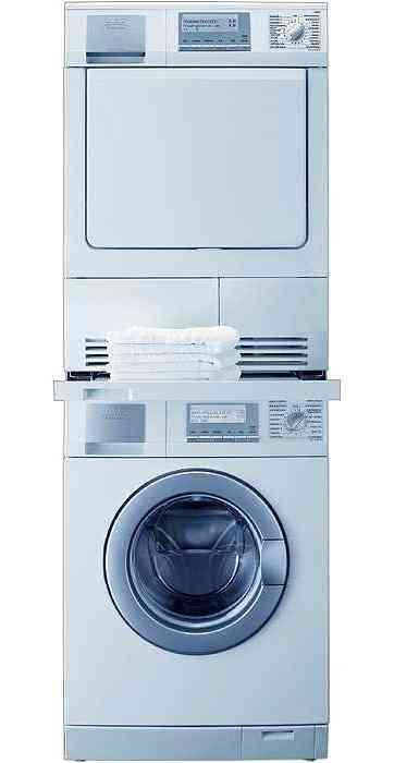 columna de lavado y secado aeg