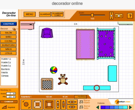 decora on-line habitacion infantil