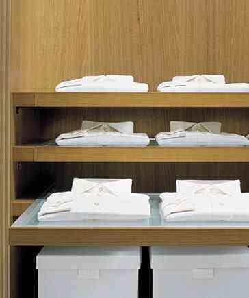 estantes extensibles para vestidor
