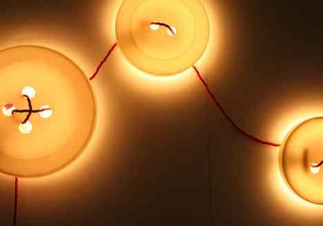 Lámparas de pared botón de luz