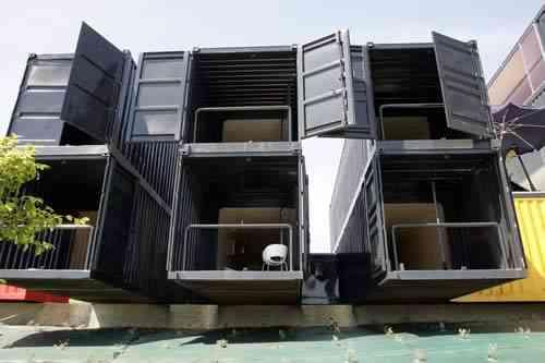 Nuevas viviendas a partir de contenedores industriales - Decoraciu00f3n ...