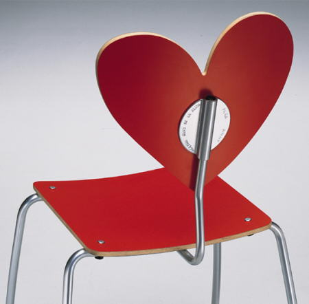 silla corazon roja de agatha ruiz de la prada