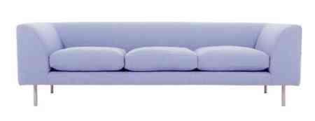 sofa con patas de acero spc