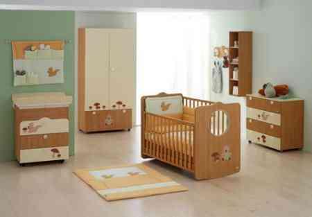 Pegatinas en los muebles del cuarto del beb decoraci n - Muebles para la habitacion del bebe ...