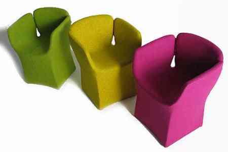 Sillones coloristas originales y divertidos decoraci n de interiores opendeco - Sillones originales ...