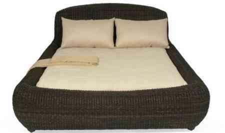 cama de fibras vegetales