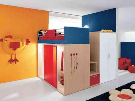 Originales ideas en dormitorios de ni os decoraci n de for Muebles originales para ninos