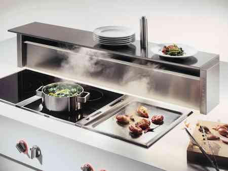 extractor de humos de mesa gaggenau