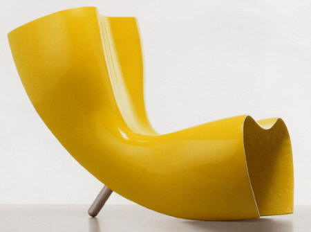 felt chair capellini