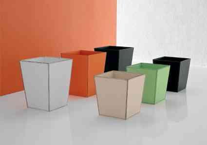 Maceteros de interiores con color decoraci n de for Maceteros de madera para interior