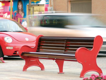 mobiliario urbano colorista atelier mendini