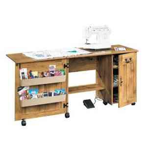 T cnica de la ciencia muebles para maquinas de coser for Mesa para maquina de coser