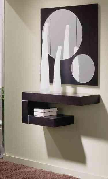 Soluciones Para Recibidores Imposibles Decoracion De Interiores - Muebles-recibidores-pequeos