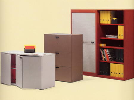 muebles de oficina de diversos tamaños Knoll