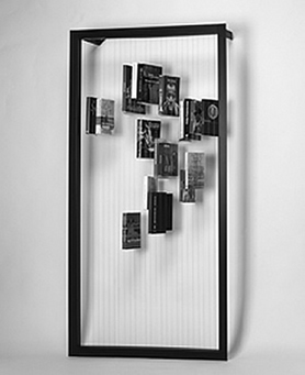 una estanteria invisible
