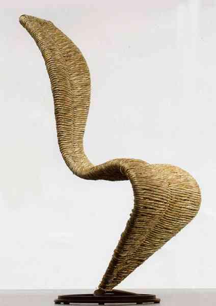 silla fibras naturales capellini