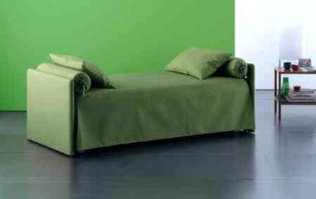sofa doble cama verde flou