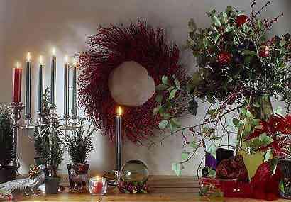 velas para navidad