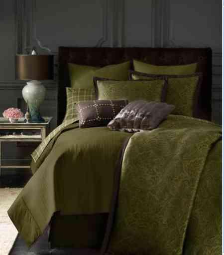 michael kors ropa de cama verde