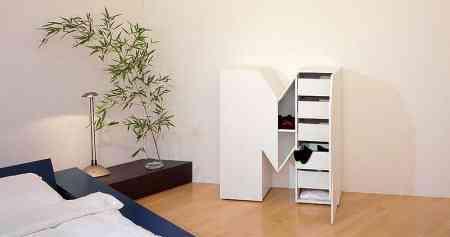 mueble con forma de letra m
