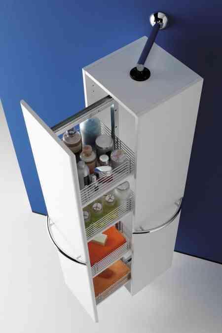 Armarios auxiliares de cocina affordable elegante muebles for Carrito bano conforama