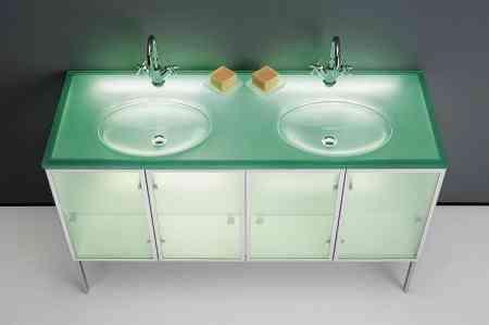 muebles baño con luz propia carmenta