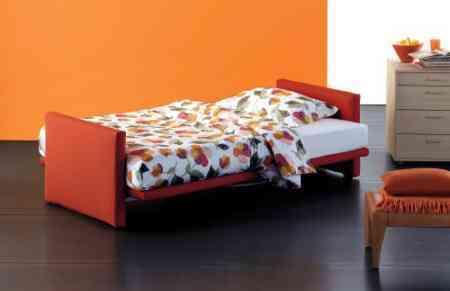 sofa cama individual abierto flou