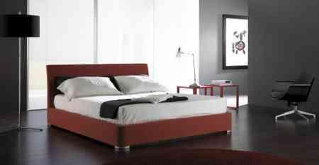 cama de color rojo nueva linea