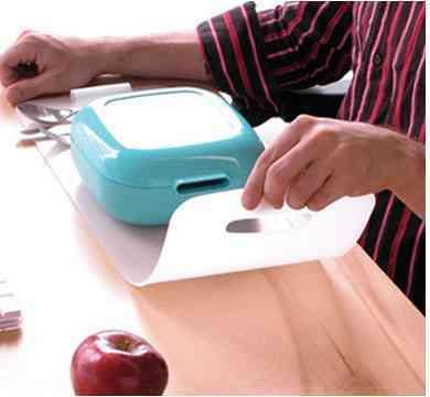 curioso set para servir la mesa abierto vessel