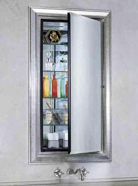 Muebles con espejo para el ba o decoraci n de interiores for Muebles de bano con espejo