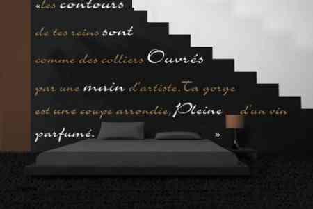 palabras en pared wallprint