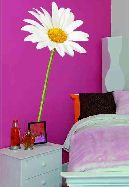 Ideas con color para paredes de cada estancia de la casa for Color de pared para dormitorio