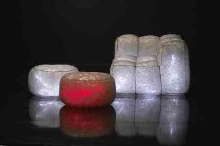 puffs y sillones luminiscentes meritalia
