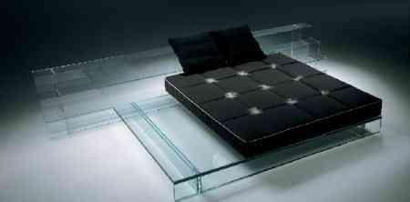 santambrogliomilano cama cristal