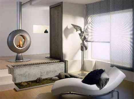 Chimeneas multifunci n decoraci n de interiores opendeco for Chimeneas interiores sin humo