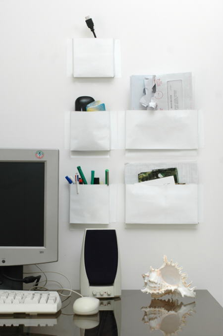 web wall pockets bolsillos de pared designer 5.5