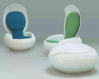 conjunto sillas huevo opulent items