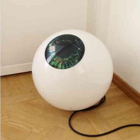 lampara ojo suelo escandinavian design
