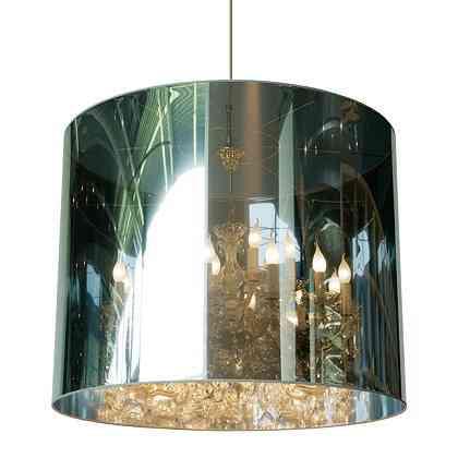 lamparas de espejo reflejo luz moooi