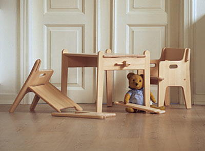 mesa infantil hans wegner ambiente