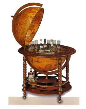 Thoughts On     Mueble Bar Vintage  Con Forma De Globo Terr  Queo